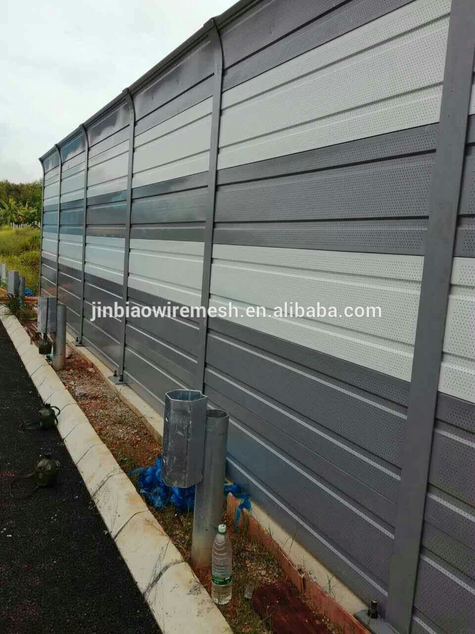 Sound Proof Wall Noise Barrier For Sale Iso9001 China Supplier