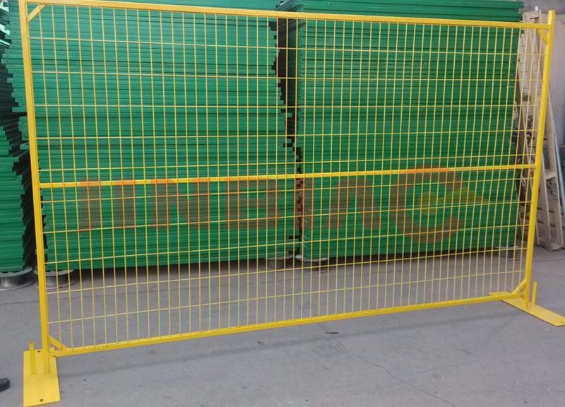 Galvanized Temporary Fence