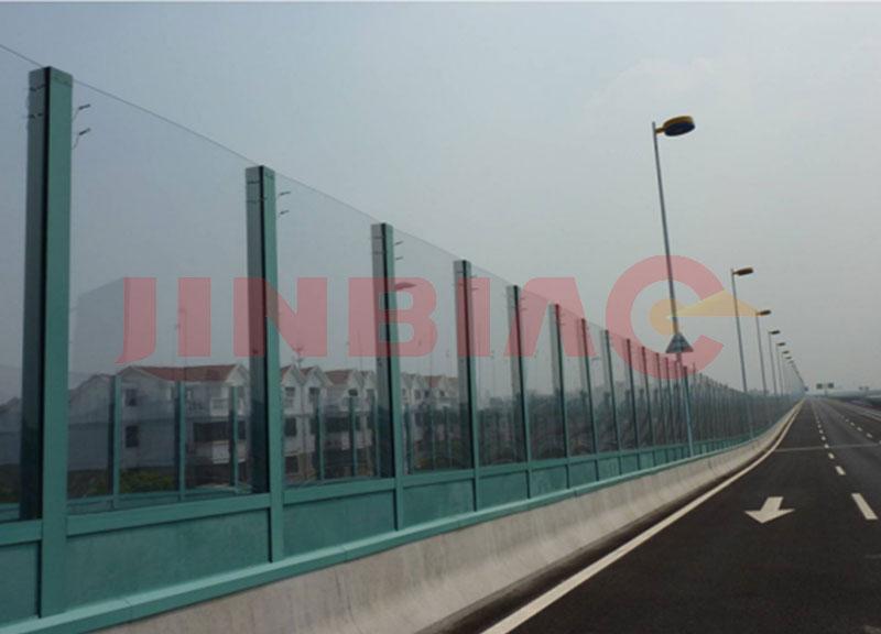 Transparent Noise Barrier
