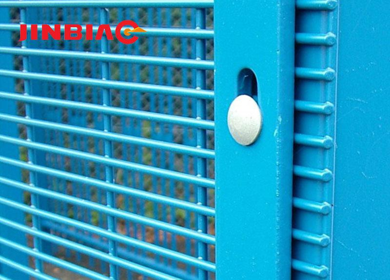 358 Mesh High Security Fence Non-climb Fence HEBEI JINBIAO CONSTRUCTION MATERIALS TECH CORP., LTD