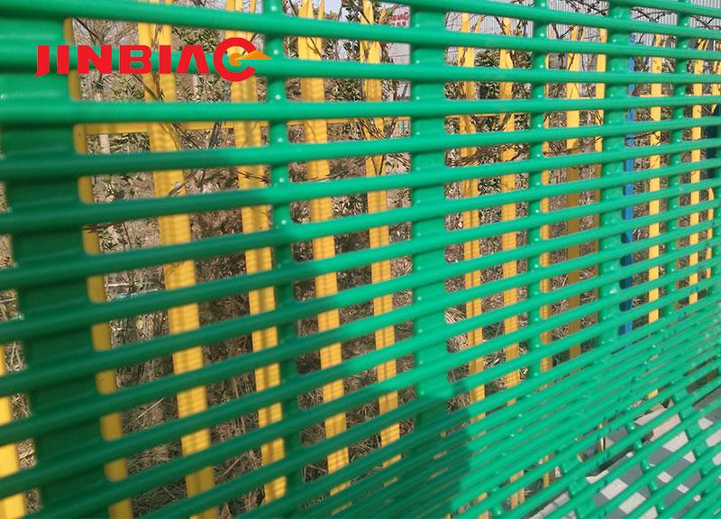 Galvanized or Powder Coated Anti Climb 358 High Security Fence Hebei Jinbiao Construction Materials Tech Corp., Ltd.