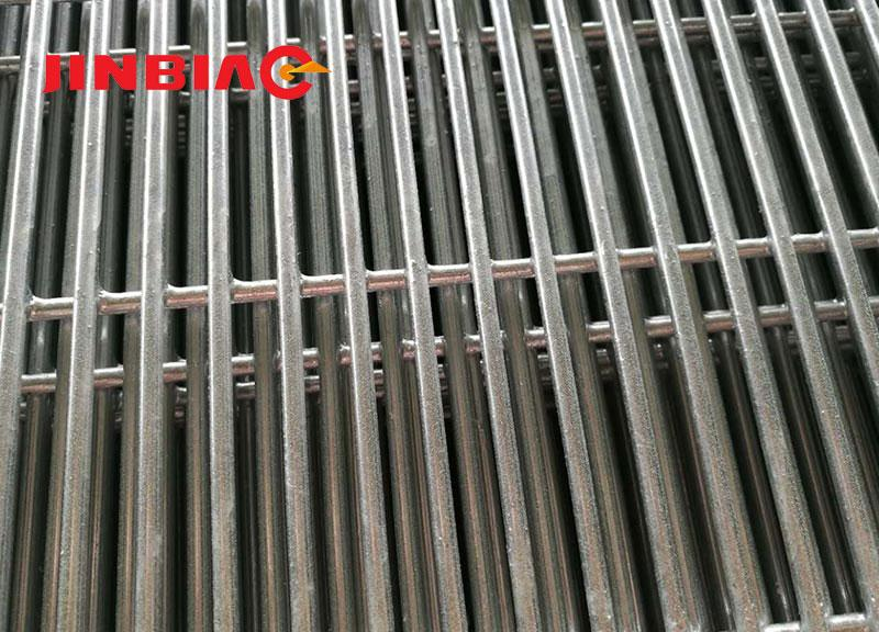 Zinc Coated 358 Fence Mesh Panel / Hot Dipped Galvanized 358 Fence Hebei Jinbiao Construction Materials Tech Corp., Ltd.