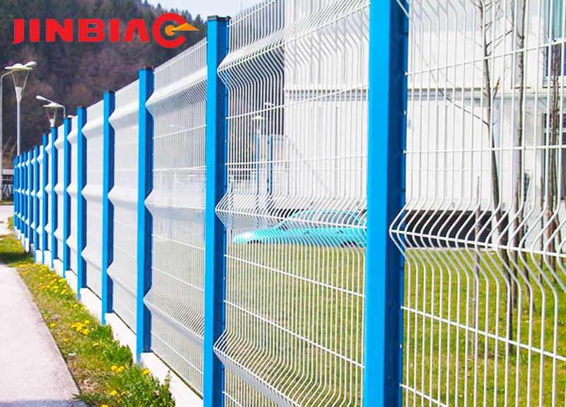 Best price 6x6 reinforcing fence Welded wire mesh fence-jinbiao