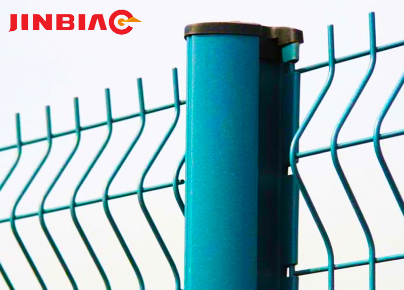 Best Price 6x6 Reinforcing Fence Welded Wire Mesh Fence Jinbiao