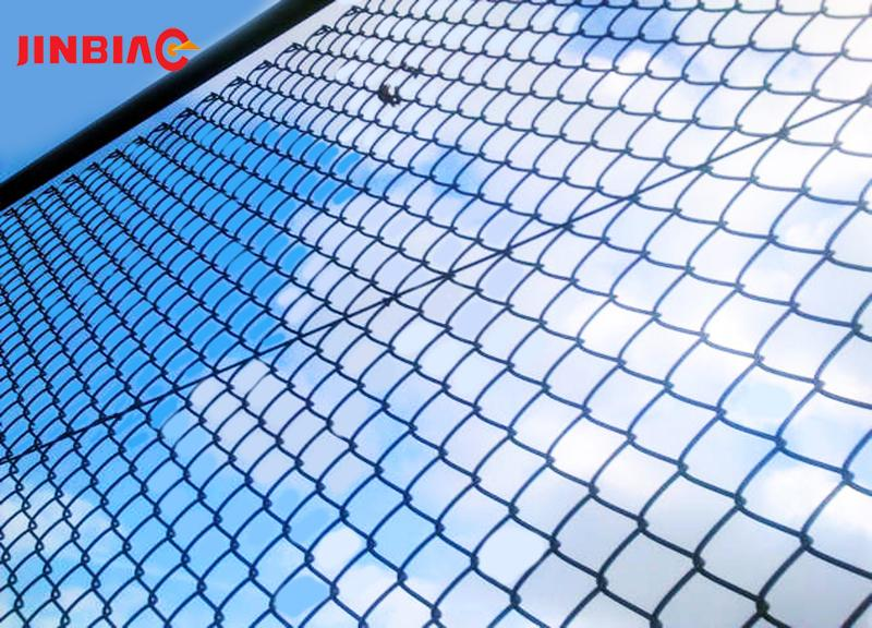 Cheap pvc coated chain link woven wire mesh fence designs