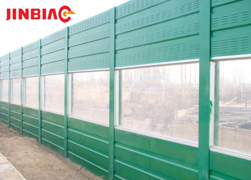 Highway steel barrier net board plexiglass Sound barriers