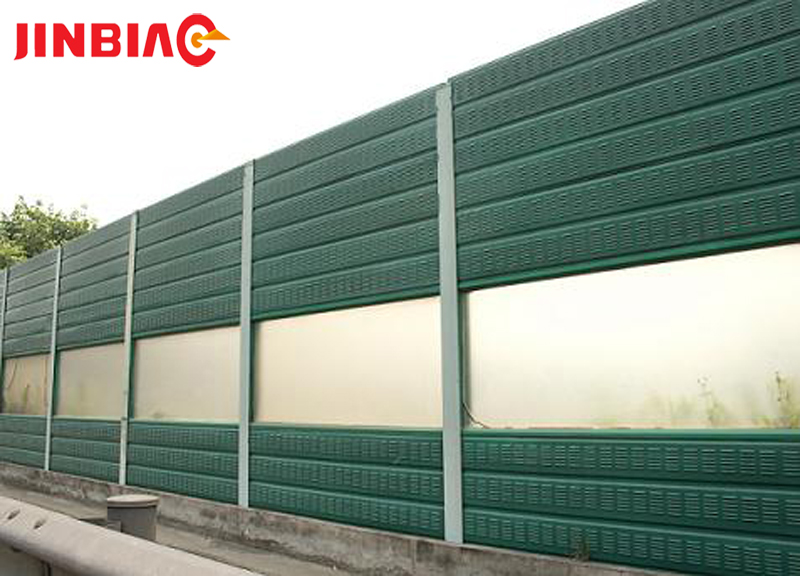 Peripheral beam traffic barrier mouldsNoise Fence Sound Barrier Wall