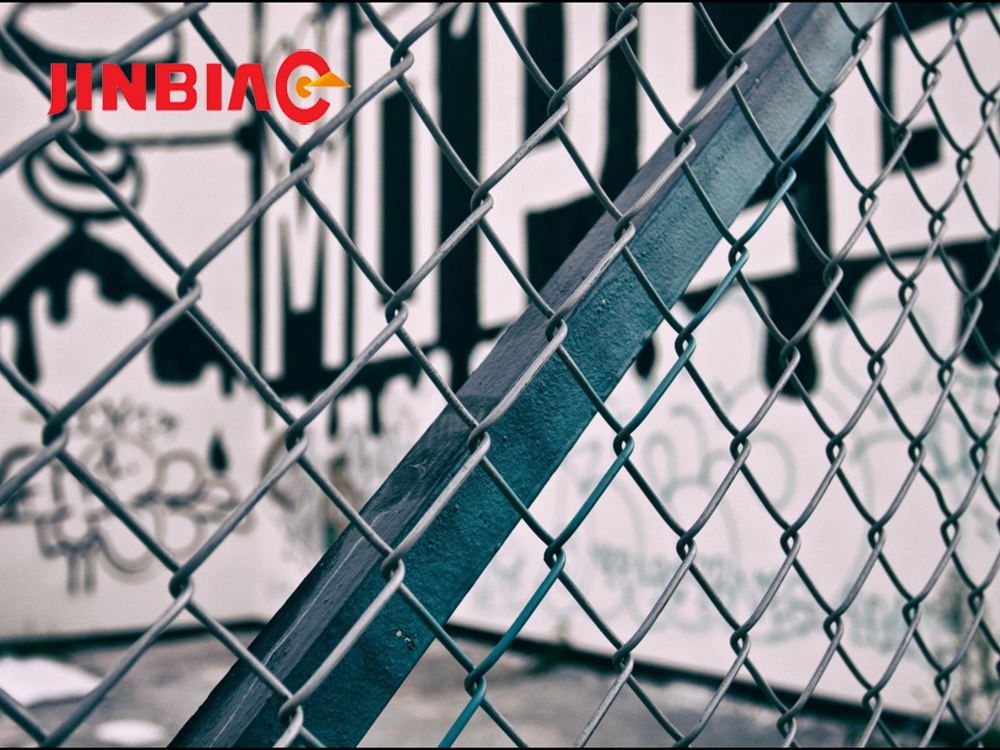 Black America cheap stainless steel chain link fence