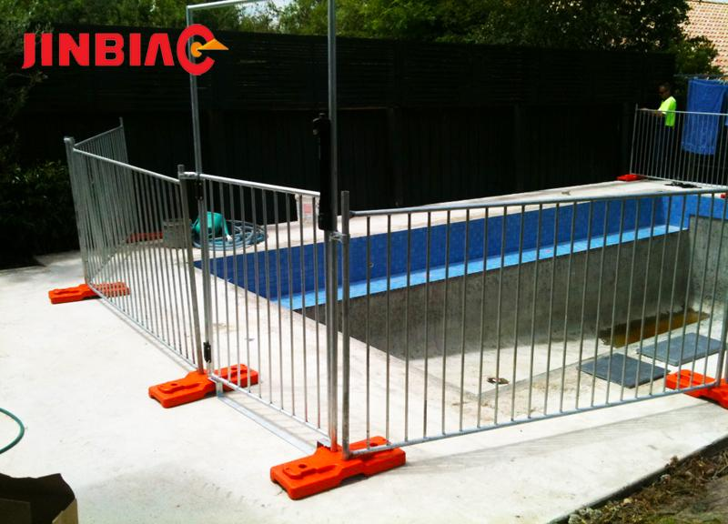 Hot dip galvanized factory supply low price portable temporary fence for sale