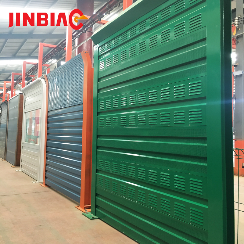 Removable plastic privacy sound absorbing panels noise barrier fence wind barrier Noise Fence Sound Barrier Wall