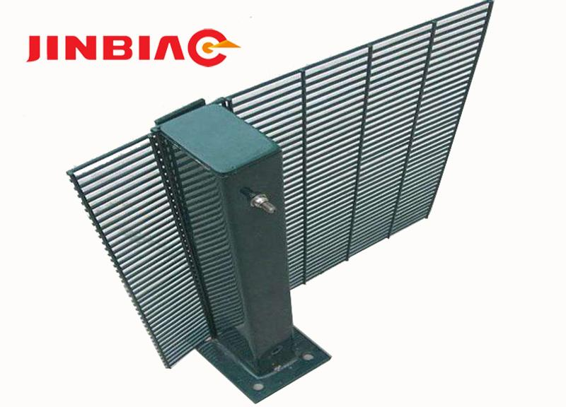 High protective green Secure Net anti climb 358 security prison fence--JINBIAO