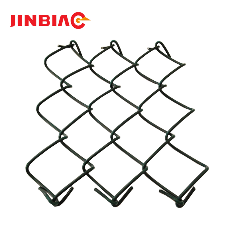 Hebei Jinbiao used chain link fence for sale, galvanized chain link fence, 50x50 chain link fabric