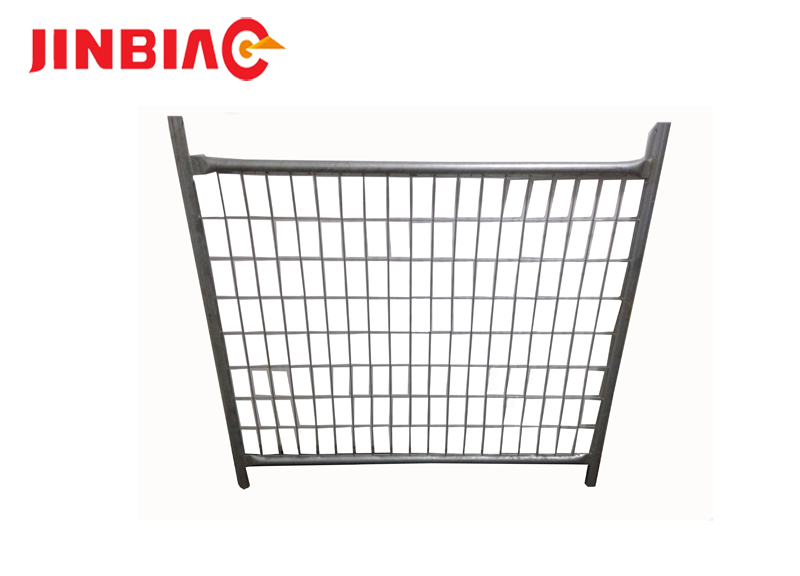 6' high x 10' long chain link portable panels be used temporary fences for construction----JINBIAO