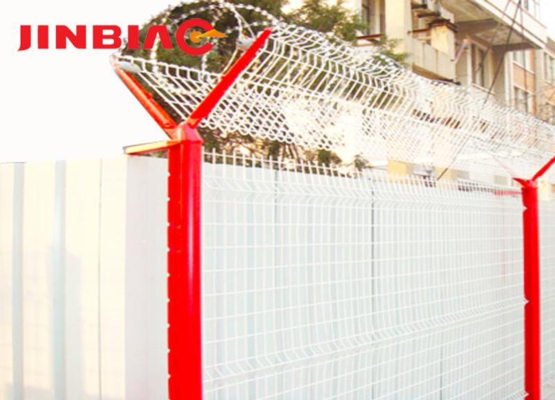 high security razor wire airport fence / High Security Fence--JINBIAO