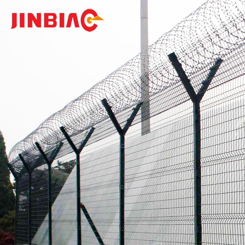 High security manufacturer supply corrosion resistant airport fence factory