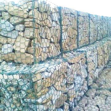 low price products pvc coated galvanized zinc coated gabion wire mesh