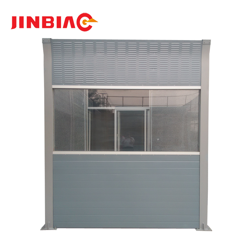 sound barrier outdoor acoustic panel Transparent Noise Barrier factory price--jinbiao