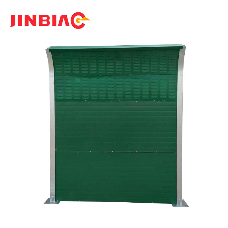Sound Barrier/ Noise Absorption Fence/ Acoustic Insulation Wall ( ISO 9001 manufacturer )--jinbiao