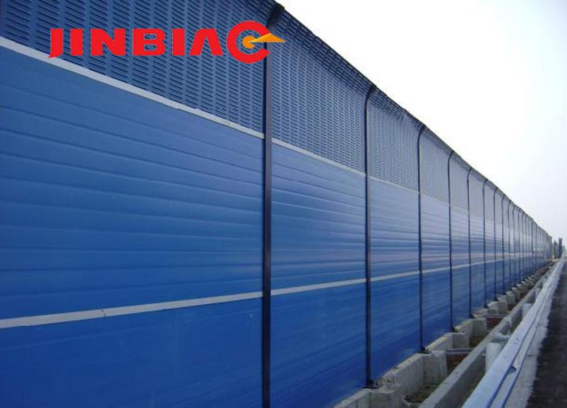 Sound Barrier/ Noise Absorption Fence/ Acoustic Insulation Wall ( ISO 9001 manufacturer )