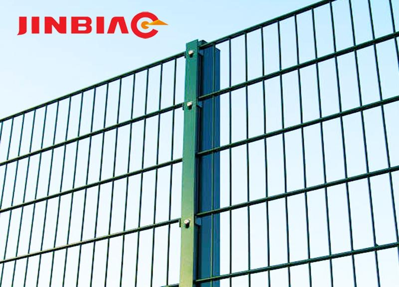 High quality welded 2d fence system double wire fence 868 twin bar mesh panel fencing