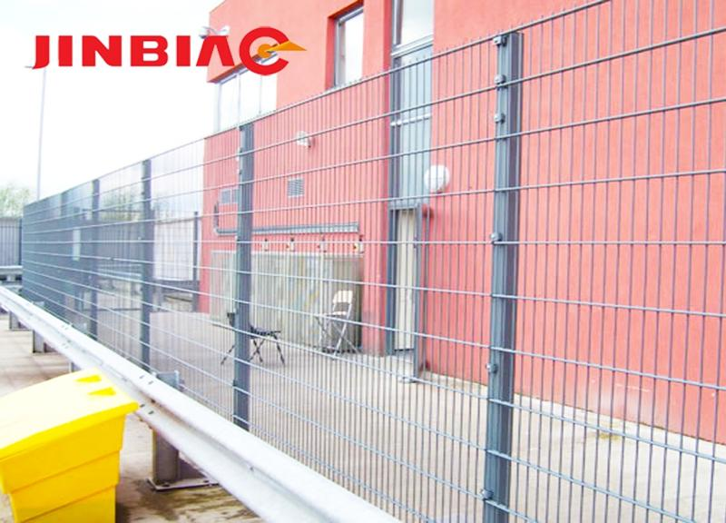 Double Wire Metal Mesh/ Double Wire Mesh Fence/ Welded Doubel Wire Mesh--jinbiao