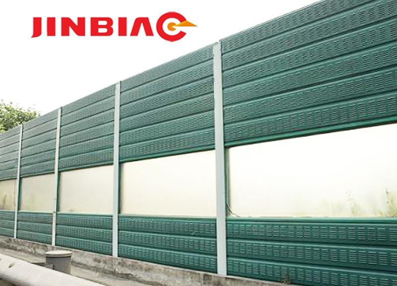 noise barrier panels for highways/noise barrier materials jinbiao