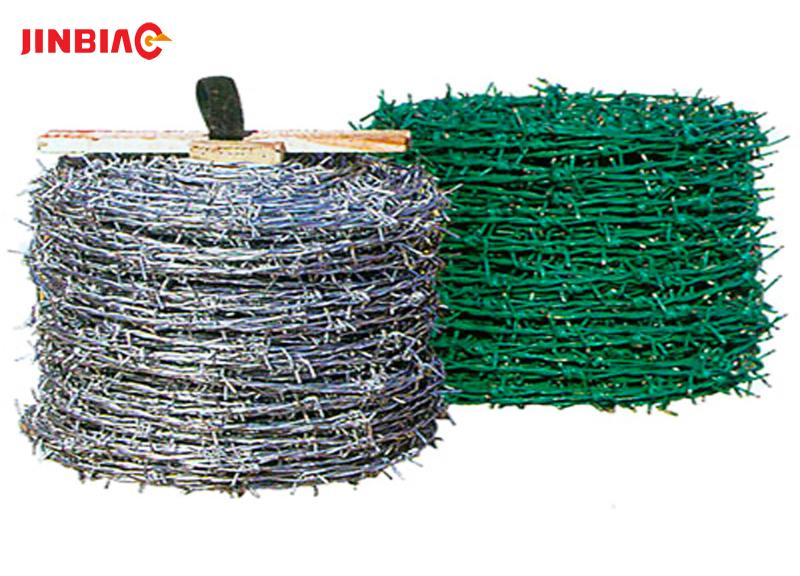 PVC Coated swg 19 gauge copper wire enameled copper wire Barbed Wire for sale jinbiao