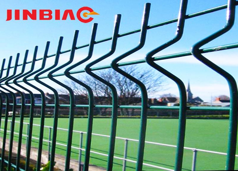 3D Curved Wire Mesh Fencing Panel For Sale jinbiao