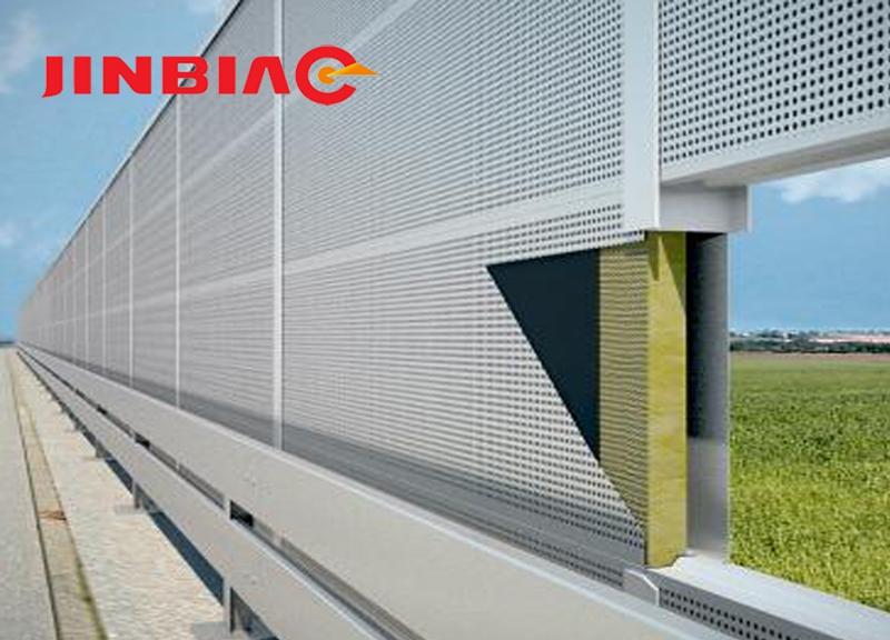 Acoustic traffic barrier white noise barrier jinbiao