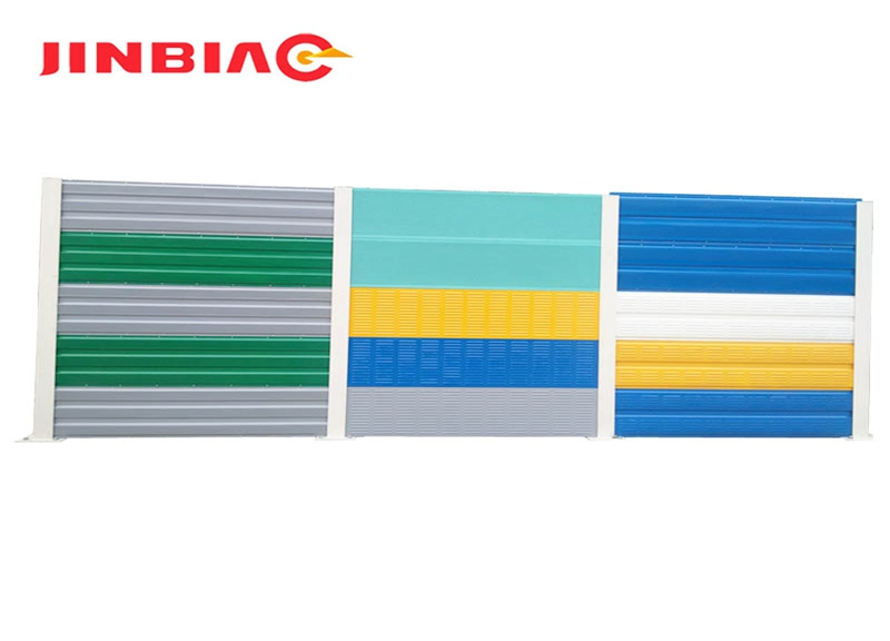 High quality sound barrier wall / highway noise barrier with factory price jinbiao