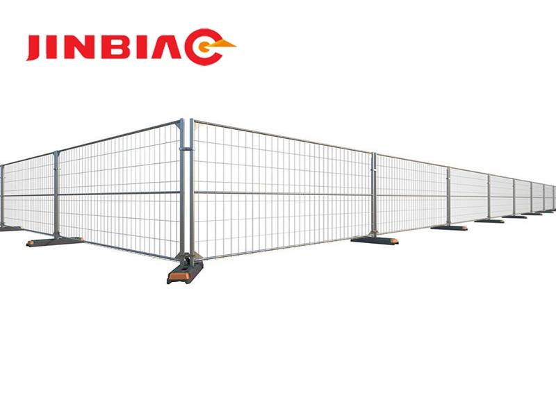 Vinyl CA type temporary fence Modular Fencing jinbiao