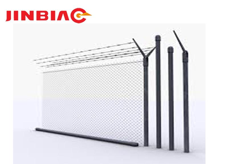 2018 China very popular and excellent and high quality low price airport fence jinbiao