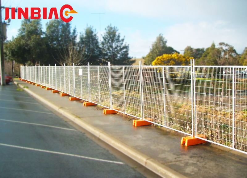 American construction AU temporary fencing iron wire fence jinbiao