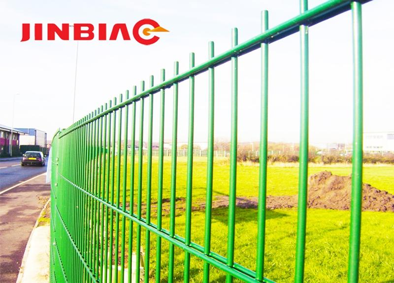 High quality galvanized low moq twin double fence panel wire welded mesh fence