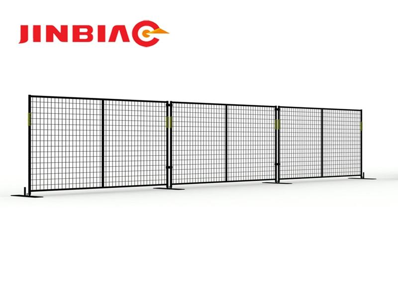 Used Temporary movable fence