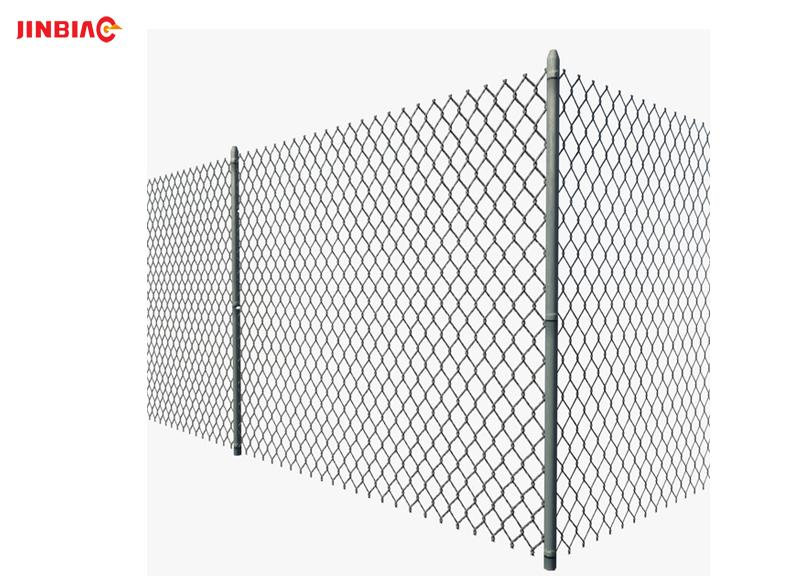 Hebei Jinbiao used chain link fence for sale galvanized chain link fence