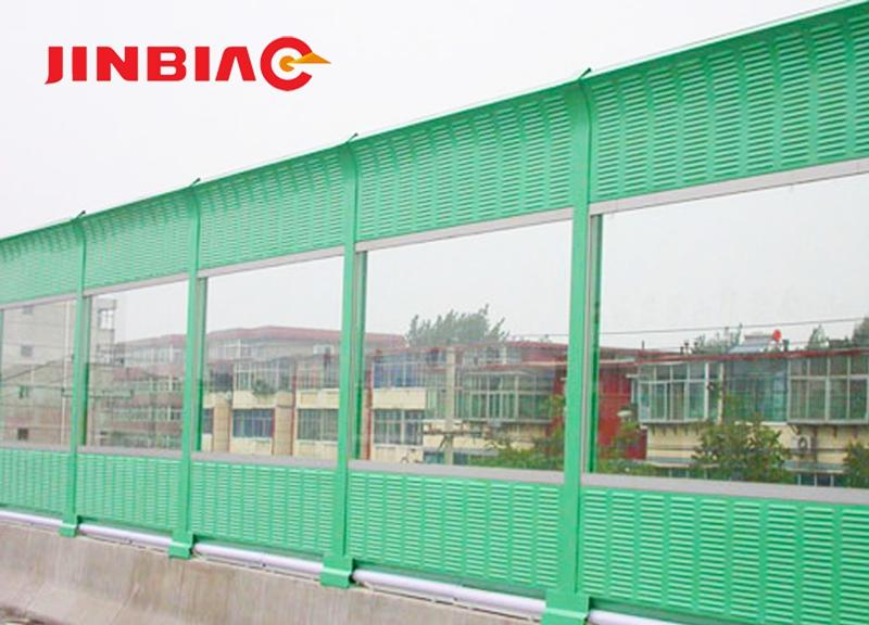 Sound Barrier / Noise Absorption Fence / Acoustic Insulation Wall ( ISO 9001 manufacturer )