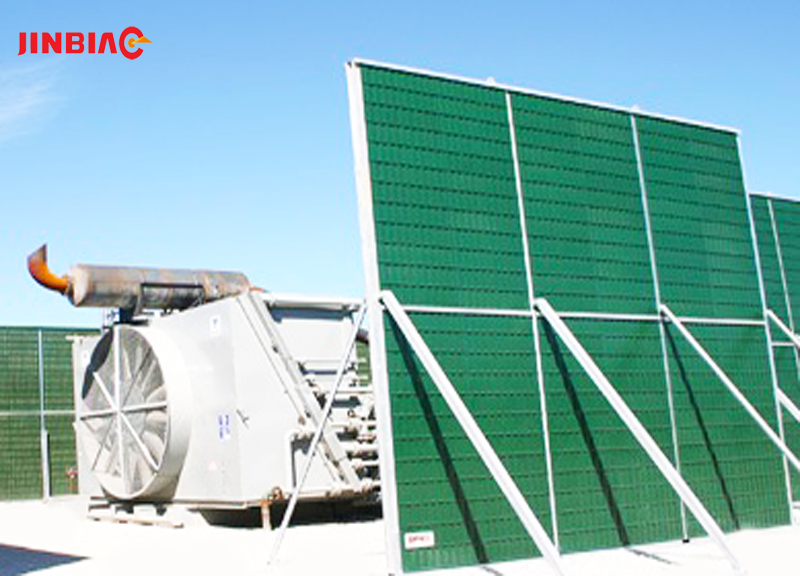 Cooling Tower Noise Barrier