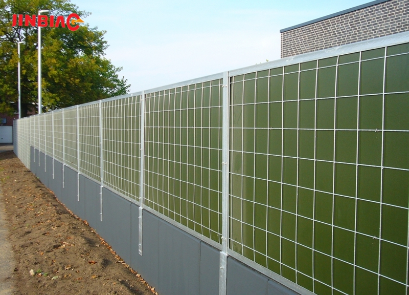 Temporary Sound Barrier Fence