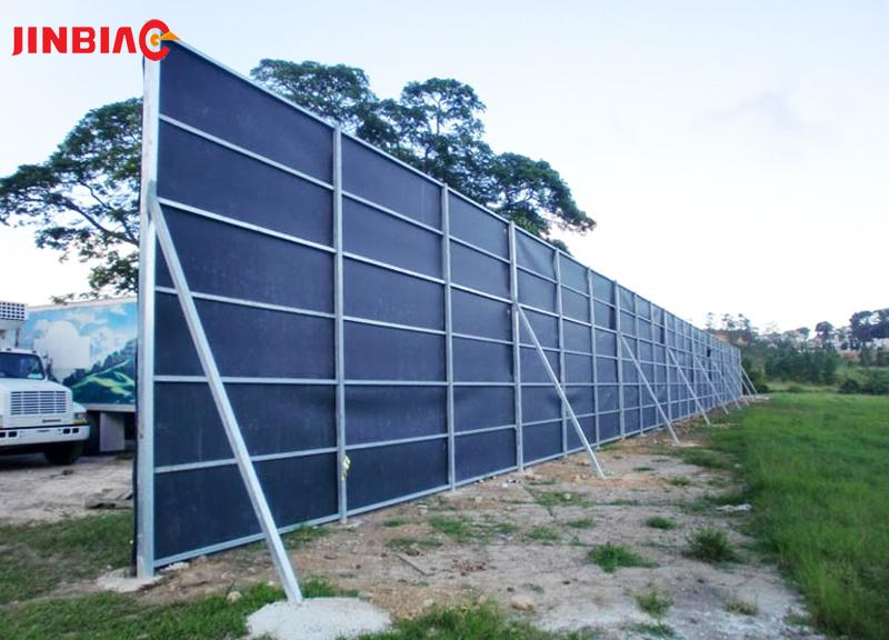 Temporary Noise Barriers