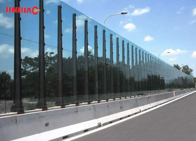 Railway Noise Barriers / Sound Barriers / Noise absorbed barriers jinbiao