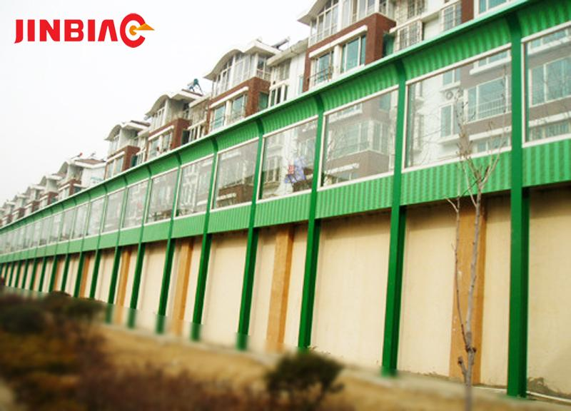 China factory Anti Noise Shield Panel / sound barrier wall / highway soundproof wall