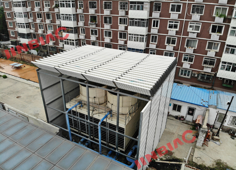 Hot sale Retractable fence retractable barrier Air conditioning unit noise barrier