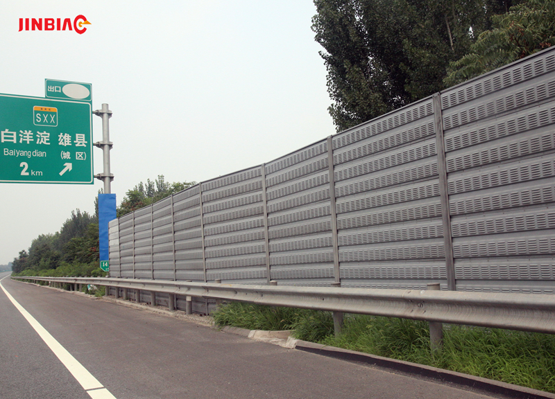 China JINBIAO Aluminum foam noise barrier manufacturer