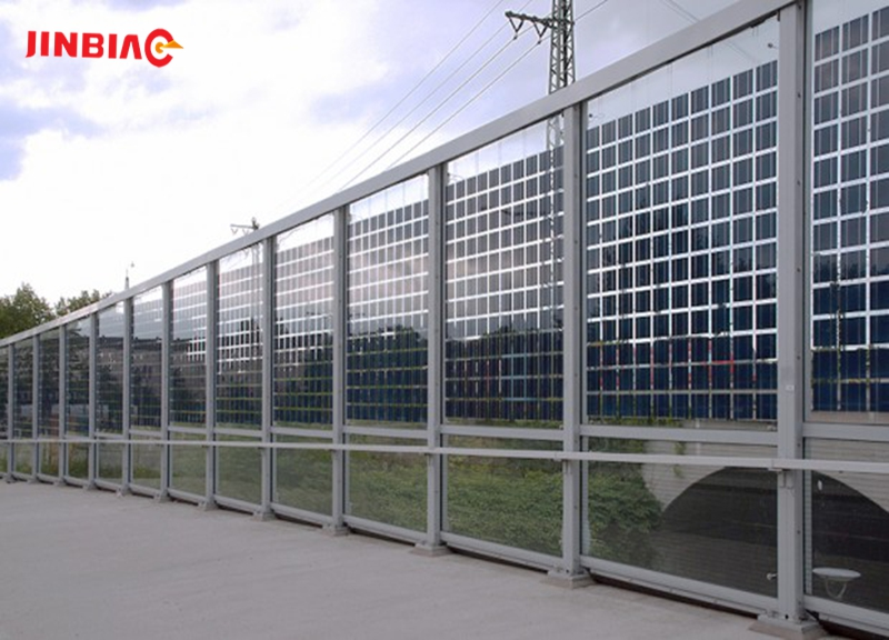 China JINBIAO PC transparent noise barrier  manufacturer