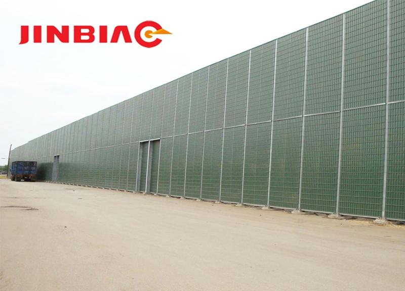 China JINBIAO Sound insulation NoiStop/Noise-reducing wall manufacturer