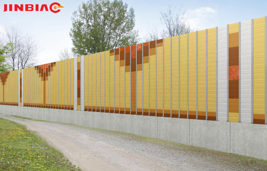 China JINBIAO Sound insulation Innovative noise barriers manufacturer