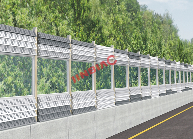China JINBIAO Triangular cone noise barrier manufacturer