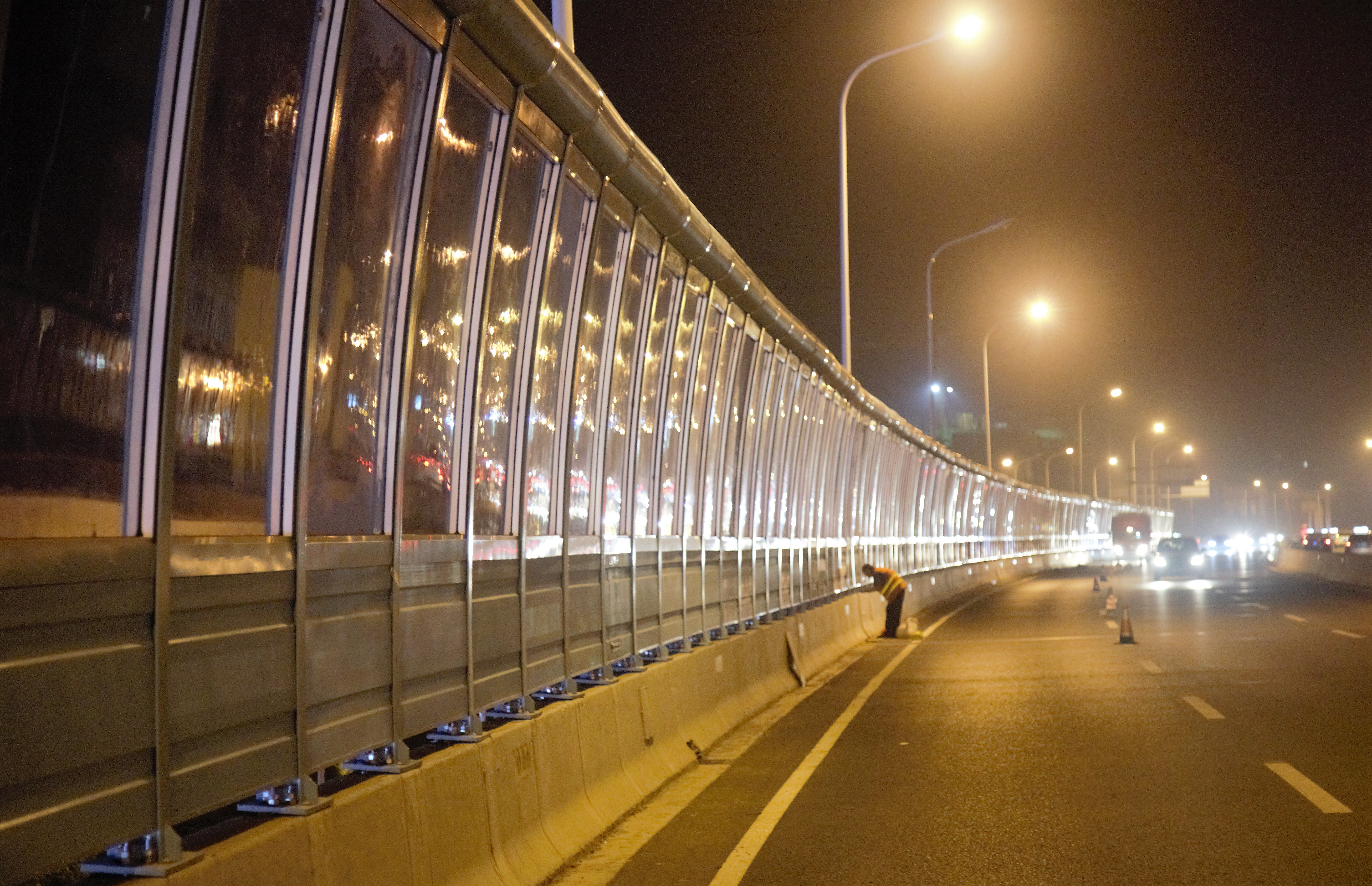 Jinan Beiyuan Viaduct Sound Insulation Wall Project
