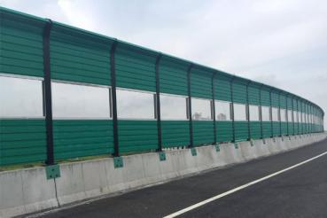 Highway noise barrier practice?